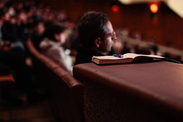 Don't overload you audience when creating your business presentation.
